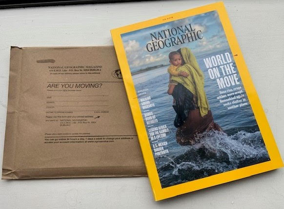 National Geographic – making the switch to paper wrapping